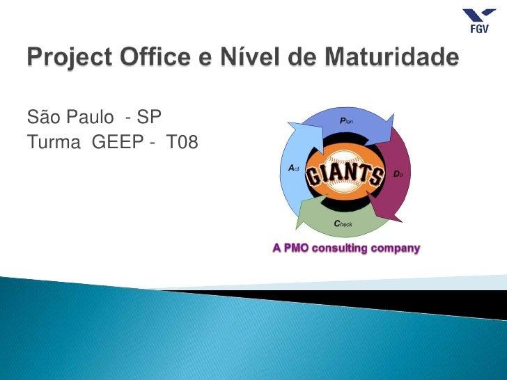 São Paulo - SPTurma GEEP - T08