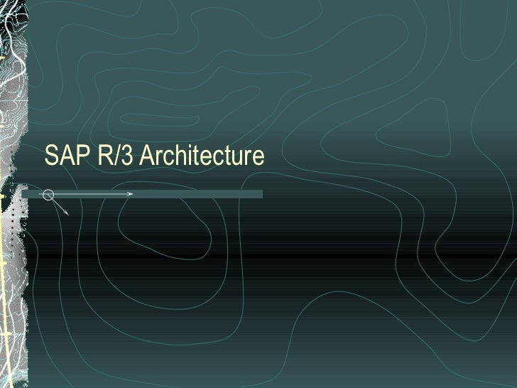 My sap ppt by ravindra nath sharma mba synbiosis for Sap r 3 architecture