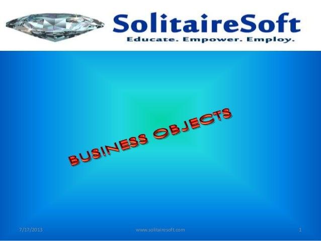 7/17/2013 www.solitairesoft.com 1