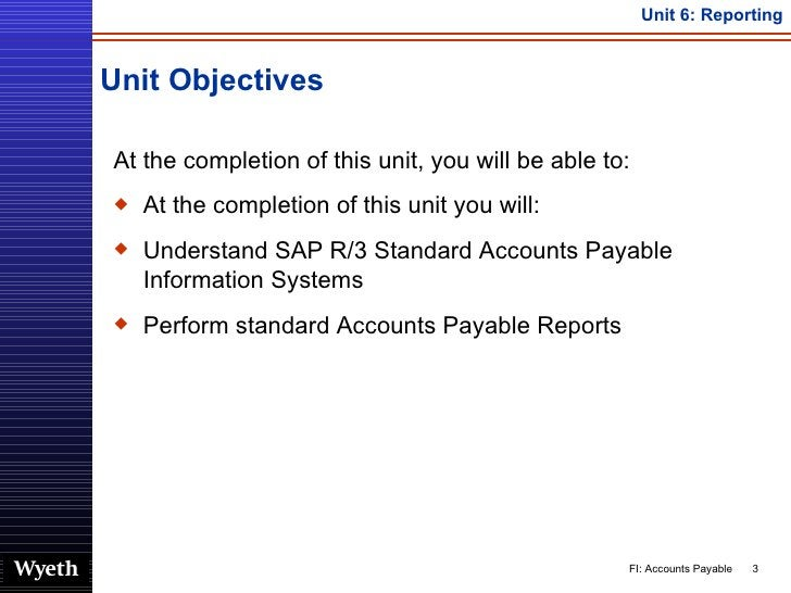Unit Objectives <ul><li>At the completion of this unit, you will be able to: </li></ul><ul><li>At the completion of this u...