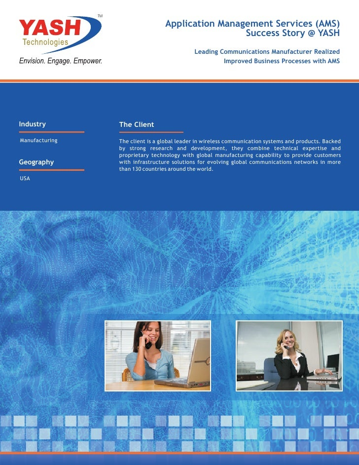 TM                                      Application Management Services (AMS)                                             ...