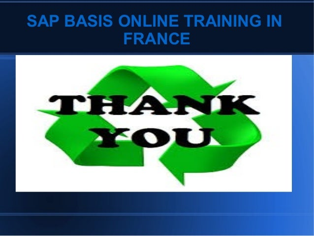 SAP BASIS Training full video 2013 - YouTube