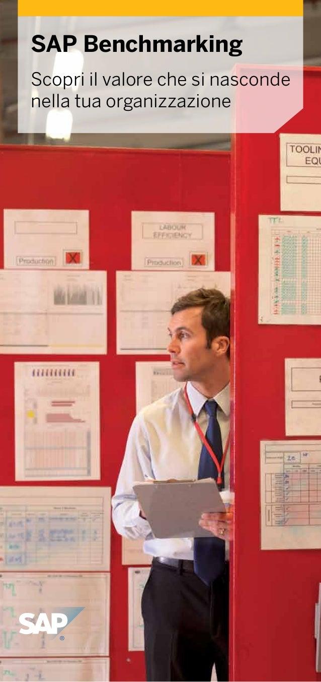 SAP Benchmarking è un servizio personale e gratuito che si basa su comparazioni con aziende leader nel mercato di riferime...