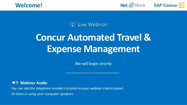 Concur Automated Travel & Expense Management