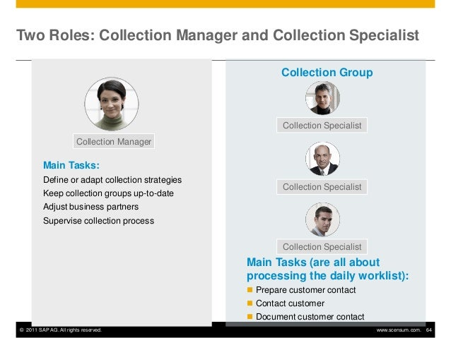 Sap Creditandcollectionmanagement - Collection specialist