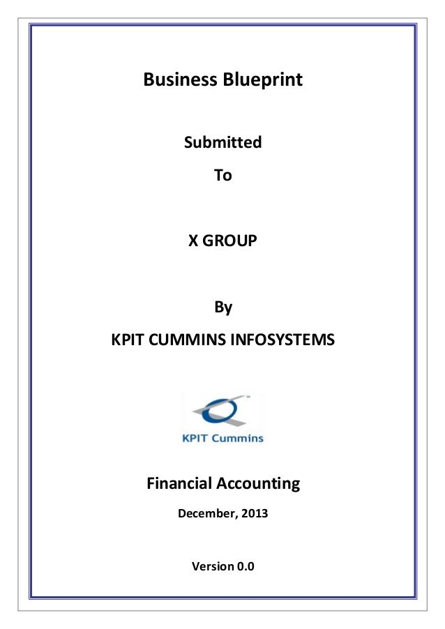 Sap fico bbp sample document pdf new business blueprint submitted to x group by kpit cummins infosystems financial accounting december 2013 version malvernweather