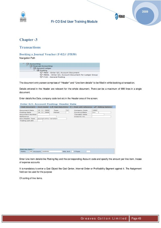 sap fico complete end user manual rh slideshare net SAP-FICO Material SAP-FICO PDF