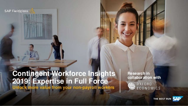 INTERNAL Research in collaboration with Contingent Workforce Insights 2019: Expertise in Full Force Unlock more value from...