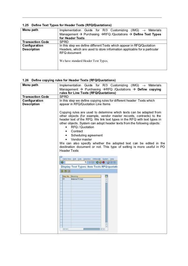 sap mm configuration step by step guide rh slideshare net SAP ERP Implementation Steps SAP ERP Implementation Steps