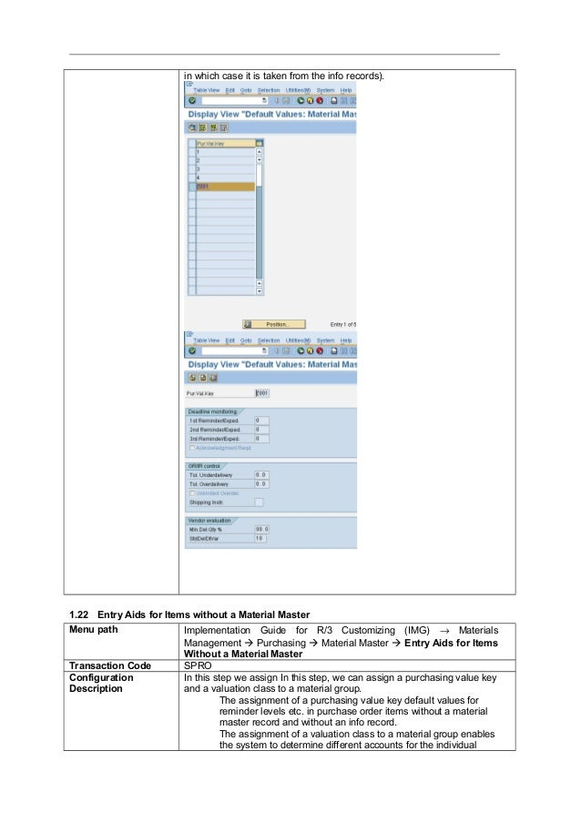sap mm step by step configuration guide