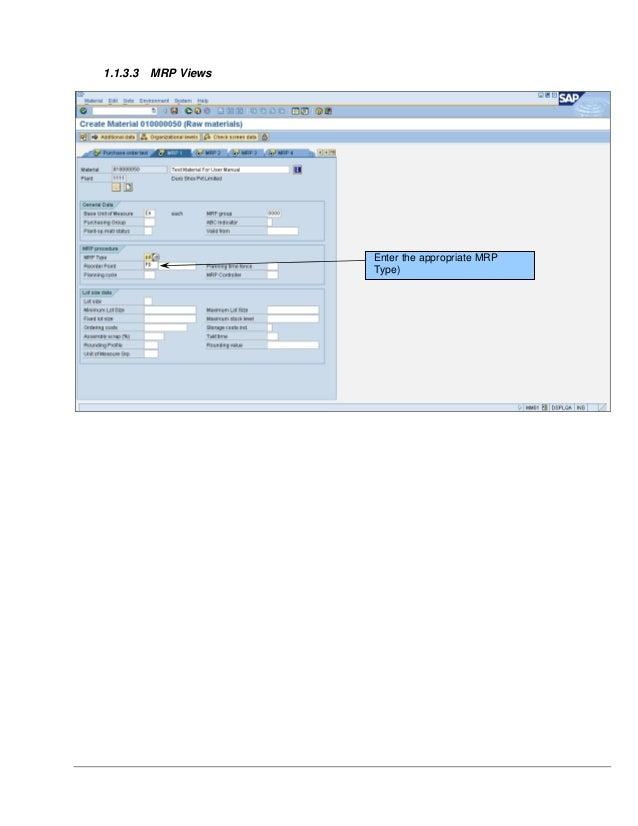 sap mm user manual pdf
