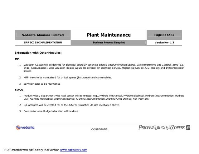 Sap plant maintenance pm business blueprint bbp2 82 malvernweather