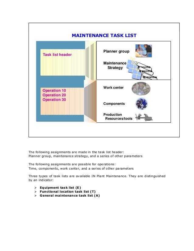 SAP PM Master Data Training Guide