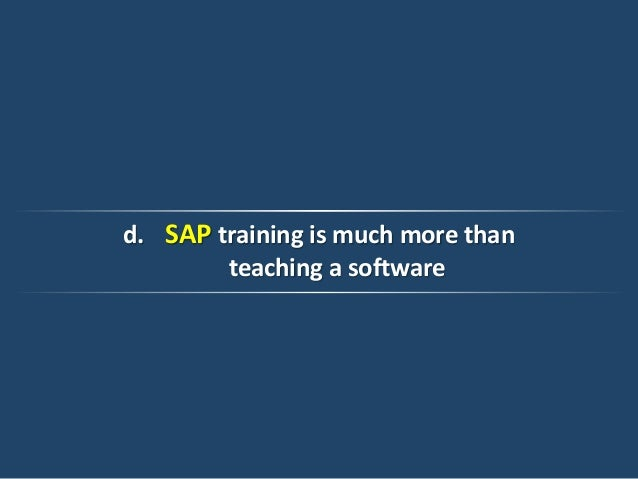 Blended Learning: How to Create a Winning SAP Training Program