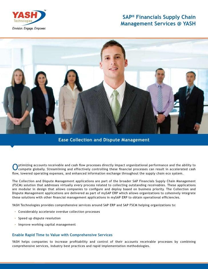 SAP® Financials Supply Chain                                                                      Management Services @ YA...