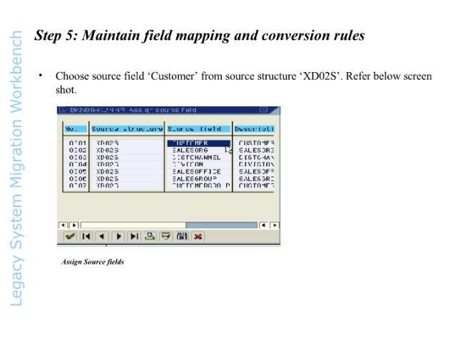 SAP SD LSMW -Legacy  System  Migration  Workbench