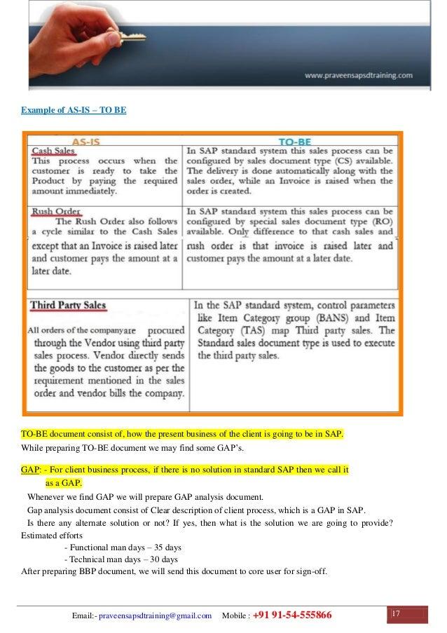 SAP SD Training | SAP SD Configuration Guide | SAP SD Study Material