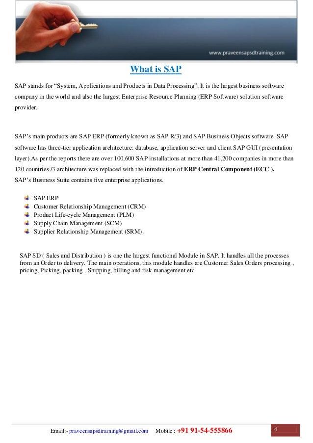 sap sd training sap sd configuration guide sap sd study material rh slideshare net SAP R 3 Tutorial SAP A1