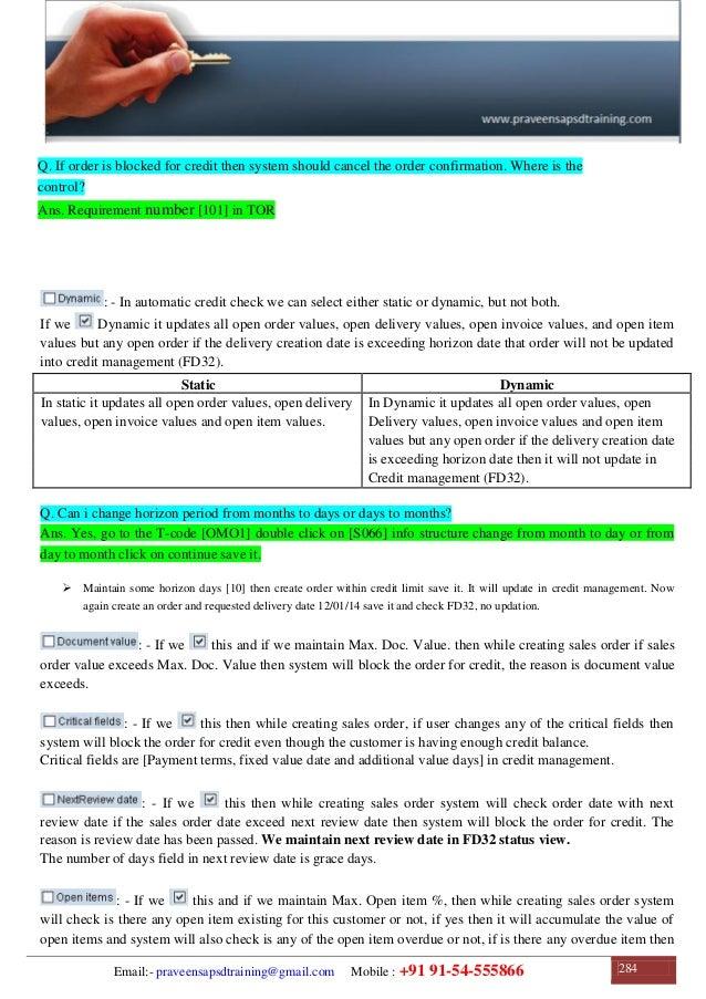 SAP SD Training | SAP SD Configuration Guide | SAP SD Study