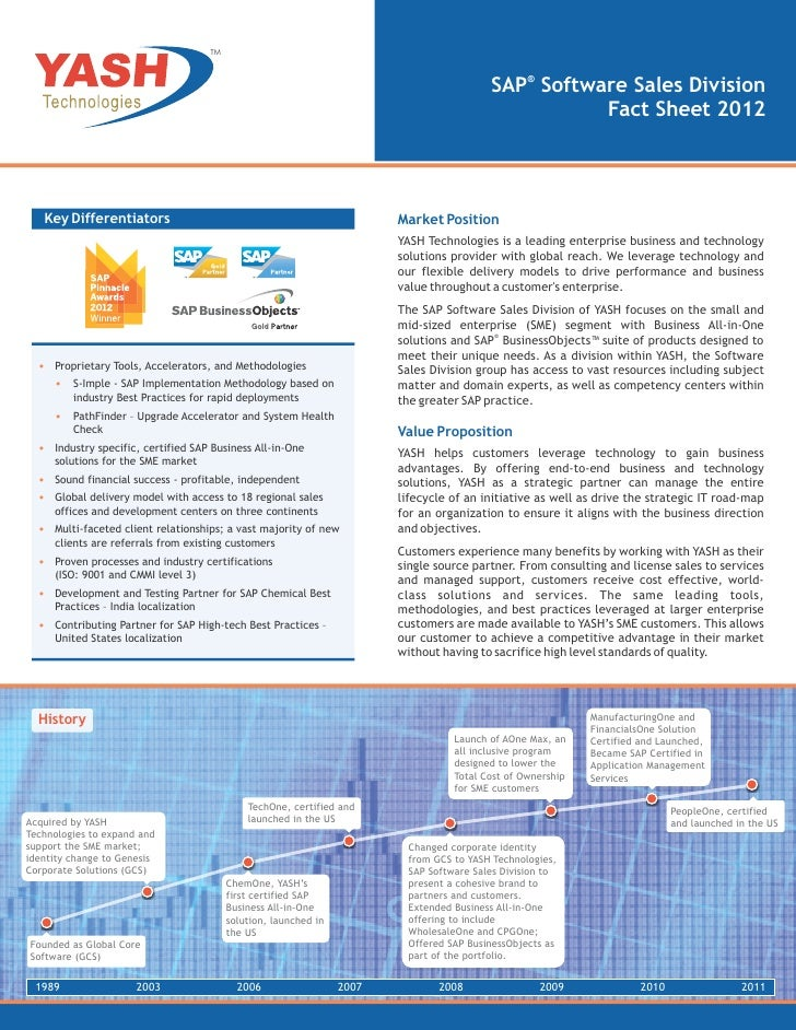 TM                                                                                           SAP® Software Sales Division ...