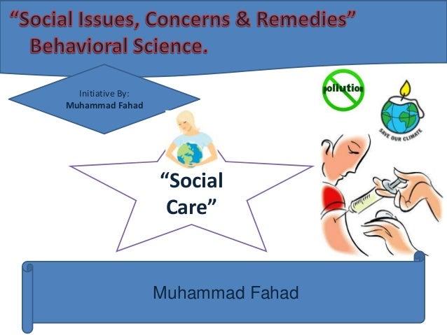 """Initiative By: Muhammad Fahad  """"Social Care""""  Muhammad Fahad"""