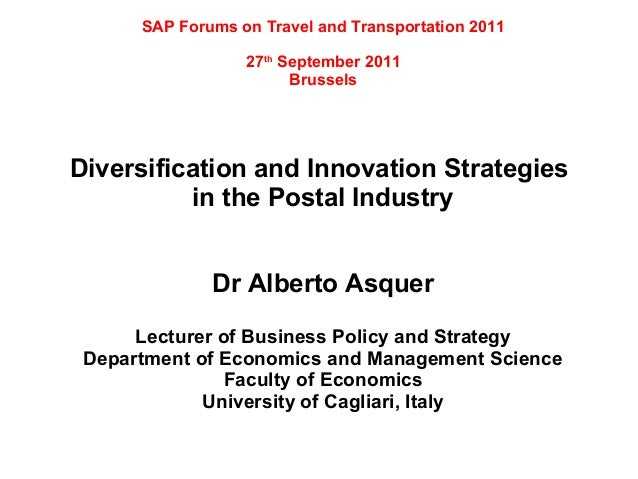 SAP Forums on Travel and Transportation 2011                  27th September 2011                        BrusselsDiversifi...