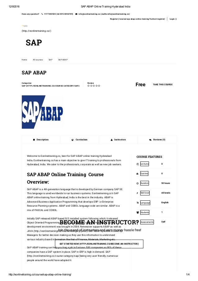 how to get sap certification in india