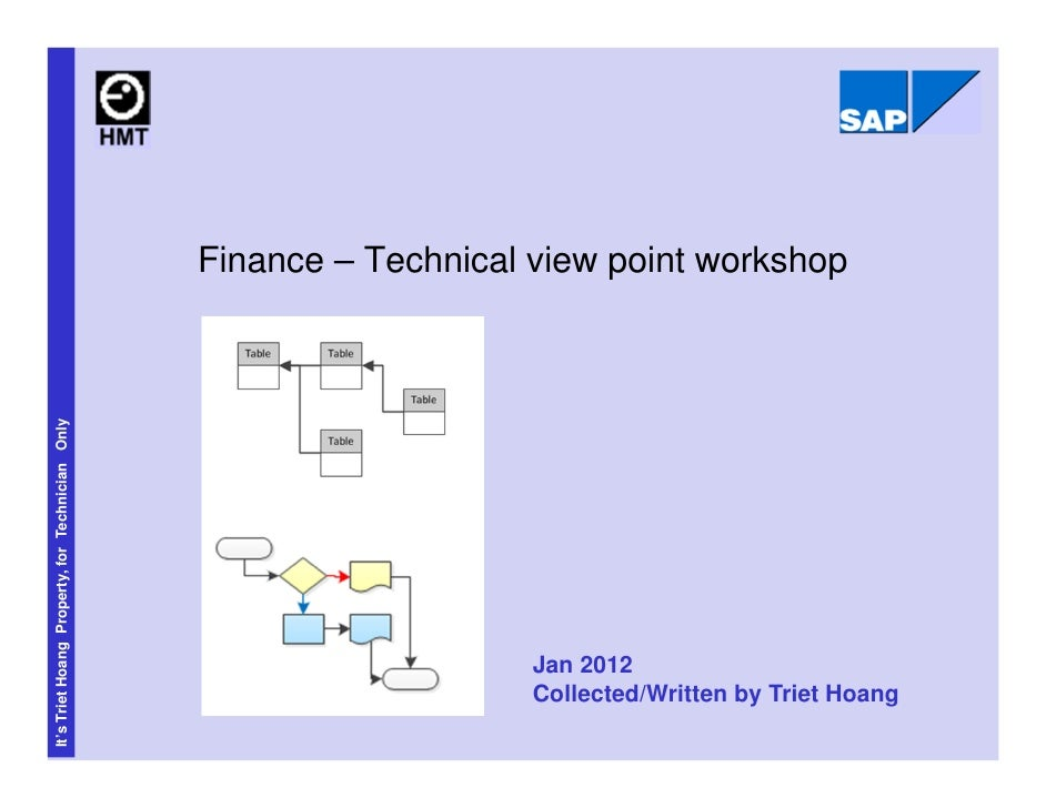 Finance – Technical view point workshopIt's Triet Hoang Property, for Technician Only                                     ...