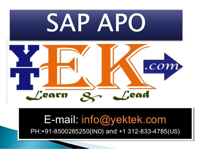 E-mail: info@yektek.com E-mail: info@yektek.com  PH:+91-8500285250((IND) and +1 312-833-4785(US)) PH:+91-8500285250 IND) a...