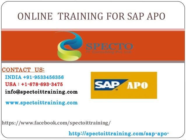 CONTACT US: INDIA +91-9533456356 USA : +1-678-693-3475 info@spectoittraining.com www.spectoittraining.com https://www.face...