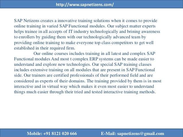 SAP Ariba Online Training | Ariba Training | SAP Netizens