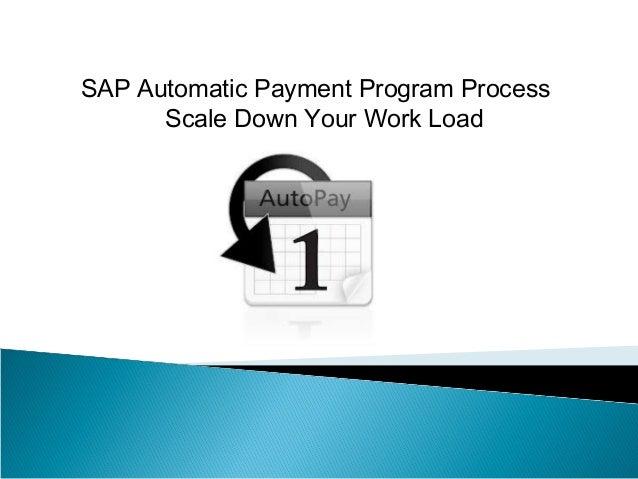 SAP FI Automatic Payment Run