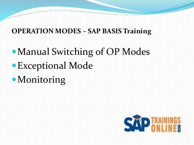 SAP BASIS/NetWeaver Online Training Courses : SAPVITS