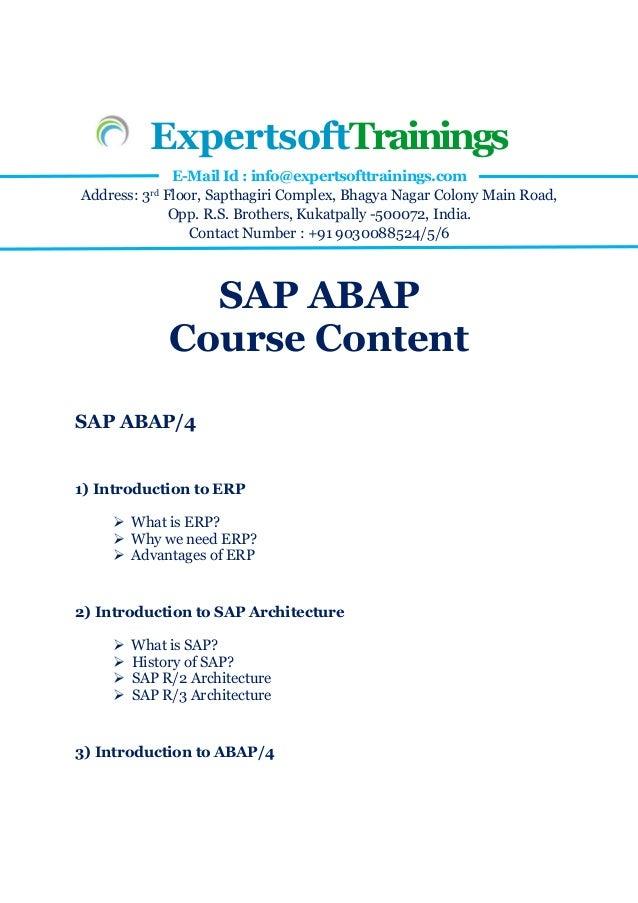 sap r3 abap4 training manual open source user manual u2022 rh dramatic varieties com SAP R 3 Training SAP Releases