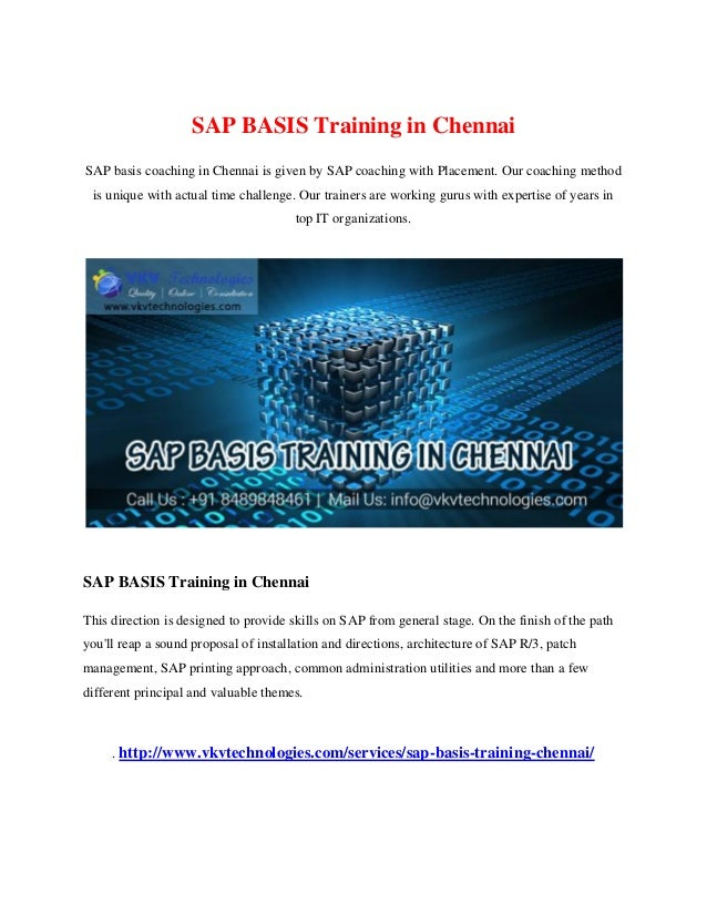 SAP Training in Chennai | SAP Course in Chennai