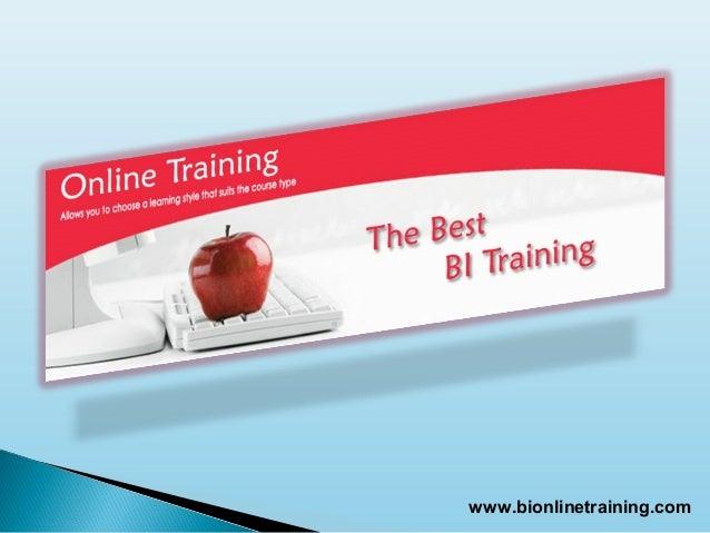 www.bionlinetraining.com