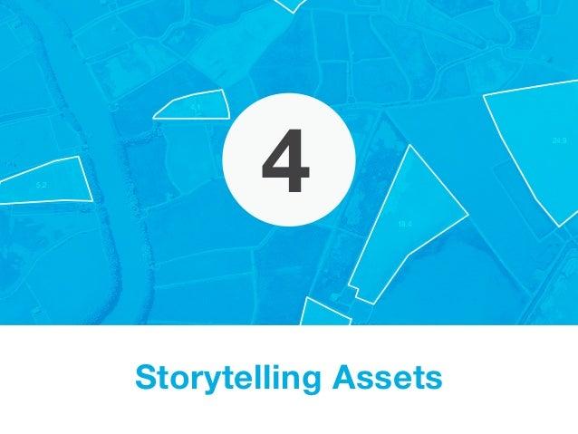18.1 4.1 5.2 24.9 18.4 4 Storytelling Assets
