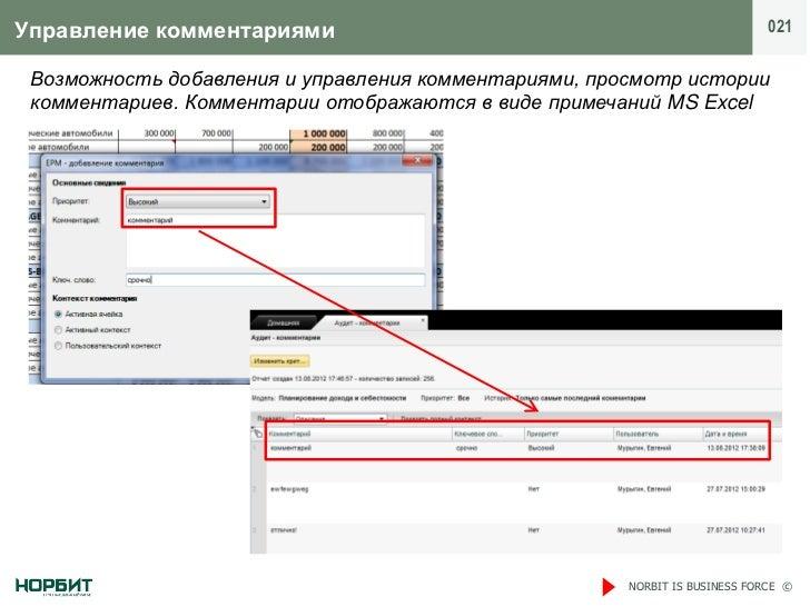 Управление комментариями                                                     021 Возможность добавления и управления комме...