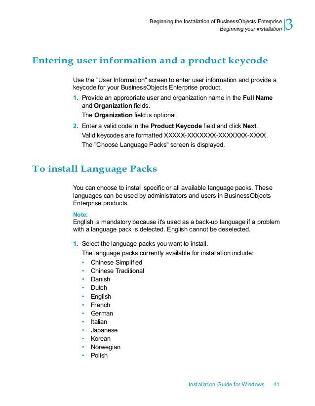 sap businessobjects installation guide rh slideshare net