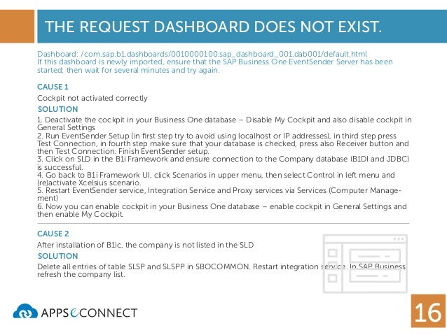 SAP Business One Integration Problems and Solutions - DI