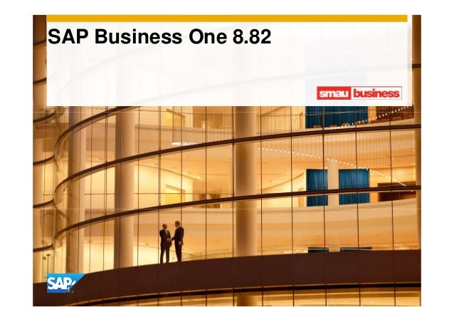 SAP Business One 8.82