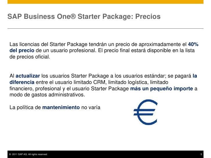 Sap business one starter package for Diferencia entre licencia de apertura y licencia de actividad