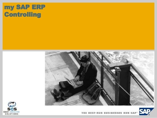 my SAP ERPControlling
