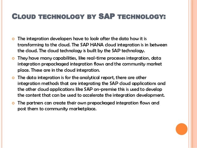 SAP CPI Training | SAP HANA Cloud Platform Integration Training - GOT