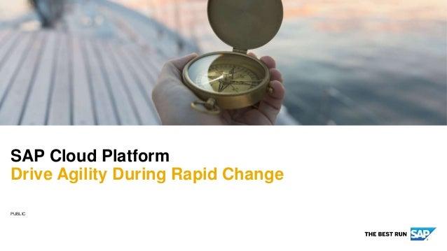 PUBLIC SAP Cloud Platform Drive Agility During Rapid Change