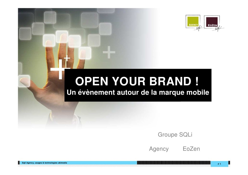 +             +                                               OPEN YOUR BRAND !                                           ...