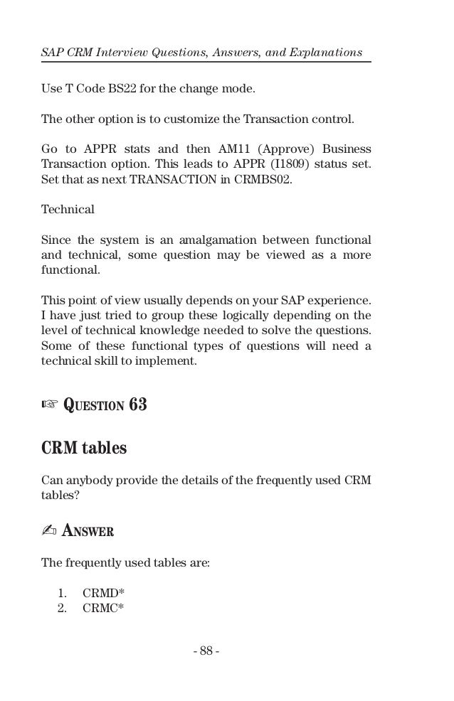 sap questions and answers Last updated: june 21st, 2018 if you're looking for sap mm interview questions  and answers, you are at right place there are lot of opportunities from many.