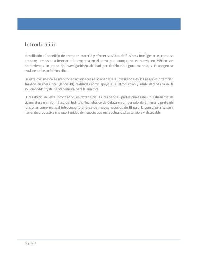 SAP BI crystal server, edicion analitica