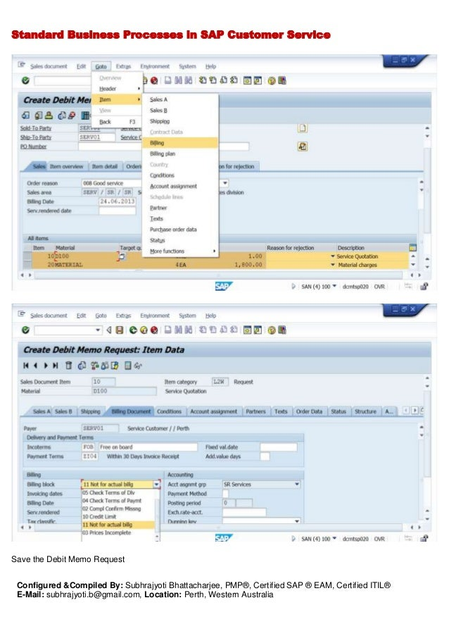Sap Logistics - Cs - Standard Process & Configuration Document