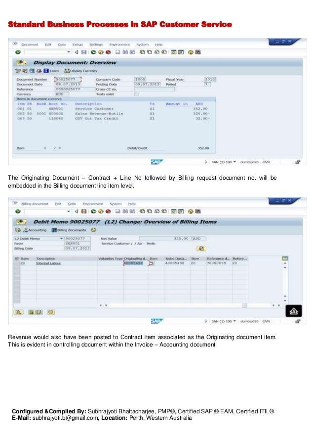 SAP Logistics - CS - Standard Process & Configuration document